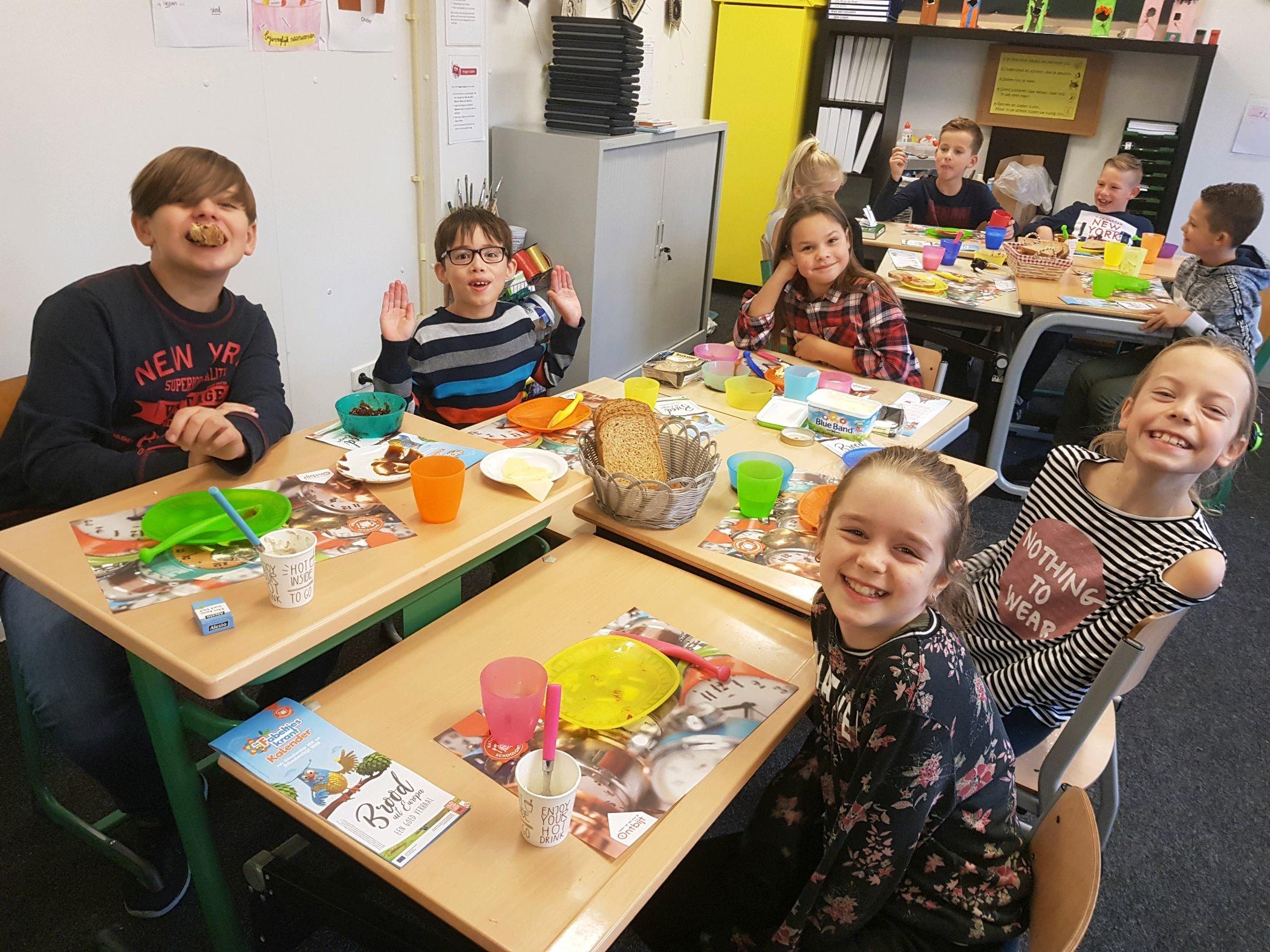schoolontbijt groep 6
